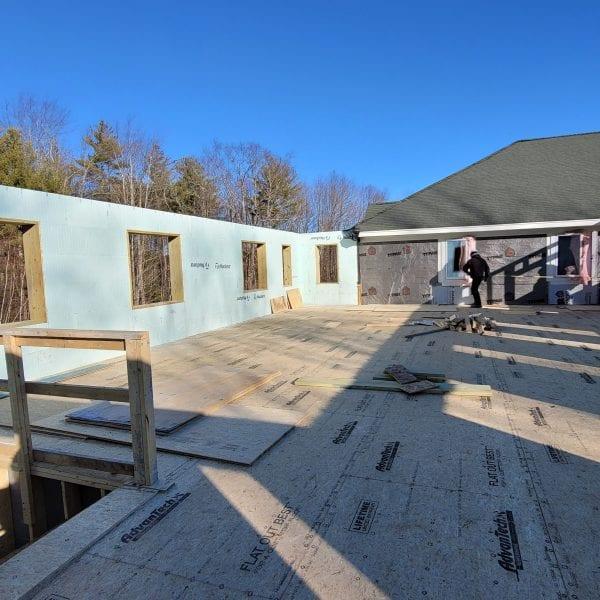 Cornerstone VNA Building Addition Progress